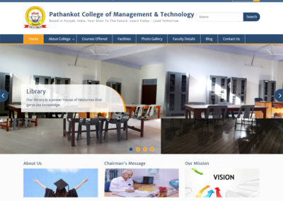 Pathankot College of Management & Technology