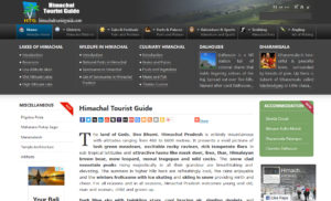 Himachal Tourist Guide project by Sodiz Technologies