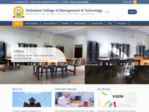 Pathankot College Project by Sodiz Technologies