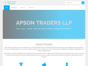 Apson Traders project by Sodiz Technologies
